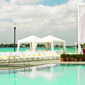 Miami Honeymoon Packages Mondrian South Beach Pool 2