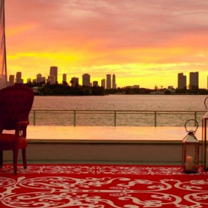 Miami Honeymoon Packages Mondrian South Beach Sunset