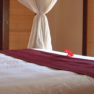 Pavilions, Bali - bali honeymoon - pool villa bedroom