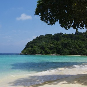 Tanjong Jara - Penang Honeymoon - beach1