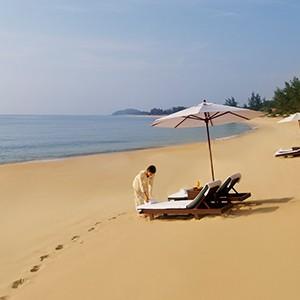 Tanjong Jara - Penang Honeymoon - beach3