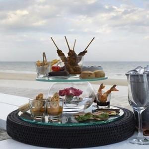 Thailand Honeymoon Packages Let's Sea Hua Hin Alfresco Resort Beach Bar Snacks And Beverages