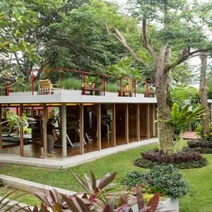 Thailand Honeymoon Packages Let's Sea Hua Hin Alfresco Resort Fitness Garden