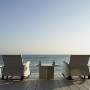 Thailand Honeymoon Packages Let's Sea Hua Hin Alfresco Resort Sea View Deck