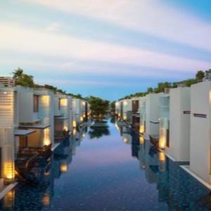 Thailand Honeymoon Packages Let's Sea Hua Hin Alfresco Resort Villa Pool At Night