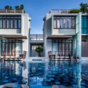 Thailand Honeymoon Packages Let's Sea Hua Hin Alfresco Resort Villa Pool Exterior