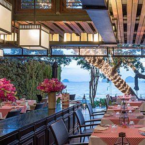 Thailand Honeymoon Packages Tubaak Resort Krabi Dining 4