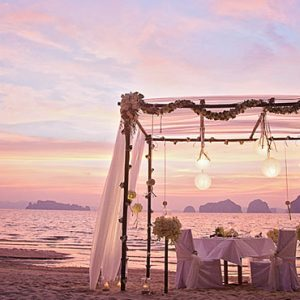 Thailand Honeymoon Packages Tubaak Resort Krabi Sunset 2
