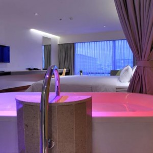 Thailand Honeymoon Packages LiT Bangkok Extra Radiance Rooms3