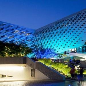 Thailand Honeymoon Packages LiT Bangkok Hotel Exterior At Night