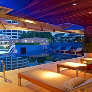 Thailand Honeymoon Packages LiT Bangkok Pool Sun Loungers