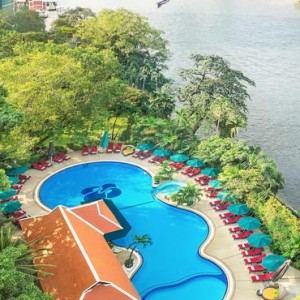 Thailand Honeymoon Packages Royal Orchid Sheraton Garden Pool