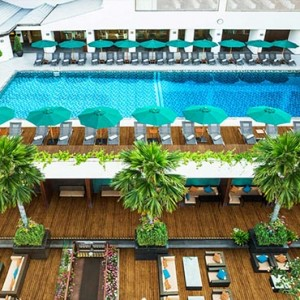 Thailand Honeymoon Packages Royal Orchid Sheraton Terrace Pool