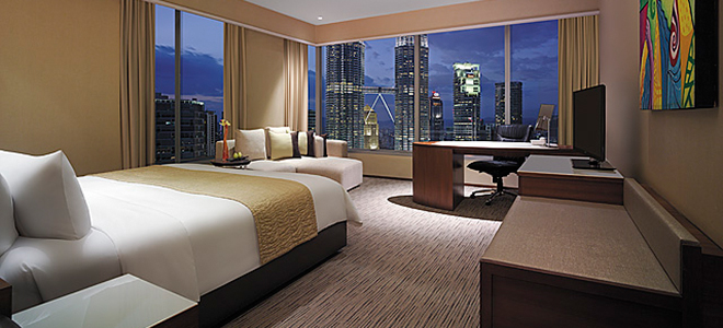 Traders Kuala Lumper - bedroom