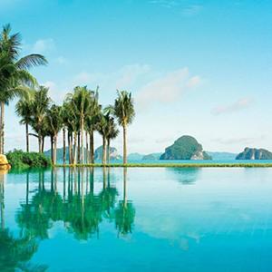 phulay bay, Krabi - Thailand Honeymoon Packages - pool