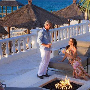 Bahamas Honeymoon Packages Sandals Royal Bahamian Firepit