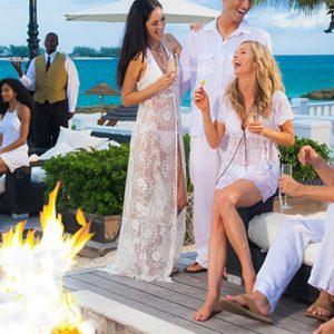 Bahamas Honeymoon Packages Sandals Royal Bahamian Firepit 2