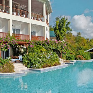 Calabash Cove - St Lucia Honeymoon Packages - swimming pool