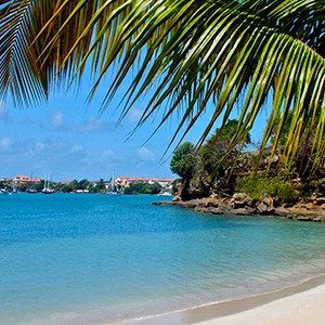 Calabash Hotel - Grenada Honeymoon Packages - beach