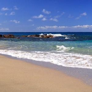 Cap Maison - St Lucia Honeymoon Packages - beach