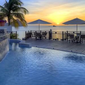 Cap Maison - St Lucia Honeymoon Packages - pool