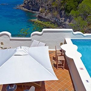 Cap Maison - St Lucia Honeymoon Packages - pool villa