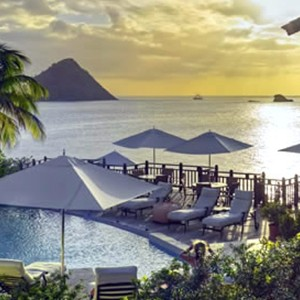 Cap Maison - St Lucia Honeymoon Packages - sunset