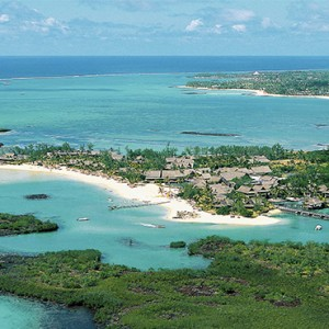 Constance Le Prince Maurice - Luxury Mauritius Honeymoon Package - aerial view