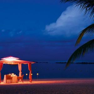 Constance Le Prince Maurice - Luxury Mauritius Honeymoon Package - beach dinner