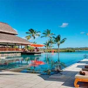 Constance Le Prince Maurice - Luxury Mauritius Honeymoon Package - main pool