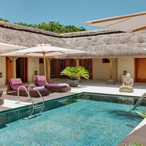 Constance Le Prince Maurice - Luxury Mauritius Honeymoon Package - spa pool