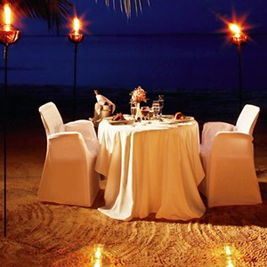 Couples Swept Away - Jamaica Honeymoon Packages - private dining