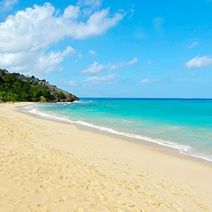 Galley Bay - Antigua Honeymoon Packages - beach view
