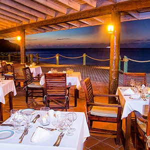 Galley Bay - Antigua Honeymoon Packages - dining
