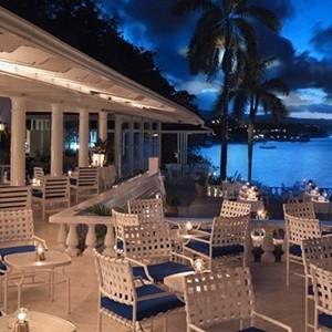 Jamaica Inn - Jamaica Honeymoon Packages - Restaurant