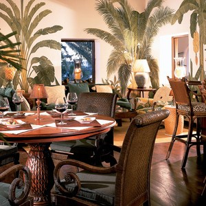 Jumby Bay - Antigua Honeymoon Packages - dining