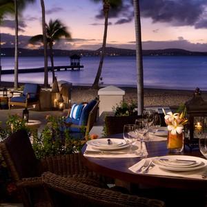 Jumby Bay - Antigua Honeymoon Packages - restaurant