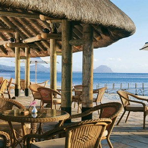 La Pirogue Resort and Spa - Luxury Mauritius Honeymoon Packages - Beach bar