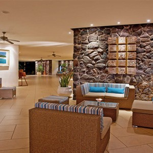 La Pirogue Resort and Spa - Luxury Mauritius Honeymoon Packages - Lobby