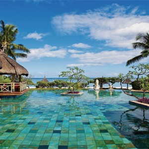 La Pirogue Resort and Spa - Luxury Mauritius Honeymoon Packages - Pool