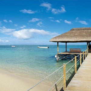 La Pirogue Resort and Spa - Luxury Mauritius Honeymoon Packages - jetty