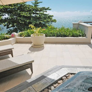 Le Cardinal - Mauritius Honeymoon Packages - terrace