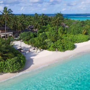 Maldives Honeymoon Packages Six Senses Laamu Aerial View