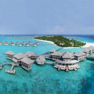 Maldives Honeymoon Packages Six Senses Laamu Aerial View1