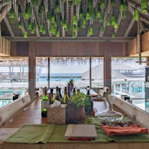 Maldives Honeymoon Packages Six Senses Laamu Altitude Bar