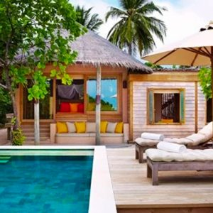 Maldives Honeymoon Packages Six Senses Laamu Family Villa With Pool