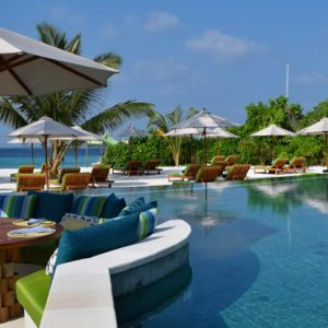 Maldives Honeymoon Packages Six Senses Laamu Main Pool 2