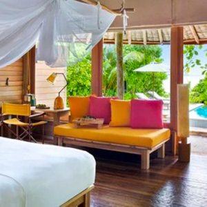 Maldives Honeymoon Packages Six Senses Laamu Ocean Beach Villa With Pool