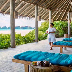 Maldives Honeymoon Packages Six Senses Laamu Spa Relaxation Lounge
