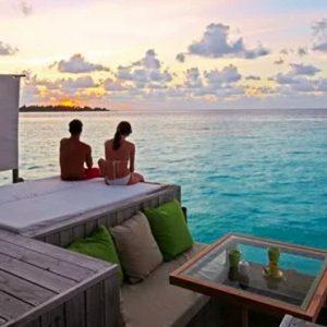 Maldives Honeymoon Packages Six Senses Laamu Sunset Laamu Water Villa
